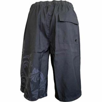 Moške kratke hlače (kopalke) SPIRAL - SKULL SCROLL - Črna, SPIRAL