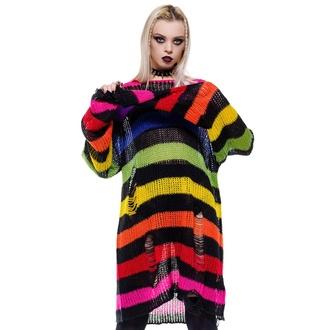 Unisex pulover KILLSTAR - Over The Rainbow, KILLSTAR