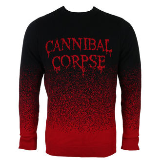 Moški pulover CANNIBAL CORPSE - DRIPPING LOGO - PLASTIC HEAD, PLASTIC HEAD, Cannibal Corpse