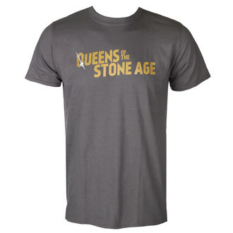 Moška Metal Majica Queens of the Stone Age - TEXT LOGO (METALLIC) - PLASTIC HEAD, PLASTIC HEAD, Queens of the Stone Age