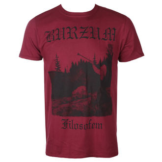 Moška metal majica Burzum - FILOZOFEM 3 (MAROON) - PLASTIC HEAD, PLASTIC HEAD, Burzum