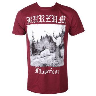 Moška metal majica Burzum - FILOZOFEM 2018 (MAROON) - PLASTIC HEAD, PLASTIC HEAD, Burzum
