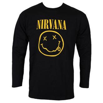 majica kovinski moški Nirvana - SMILEY LOGO - PLASTIC HEAD, PLASTIC HEAD, Nirvana