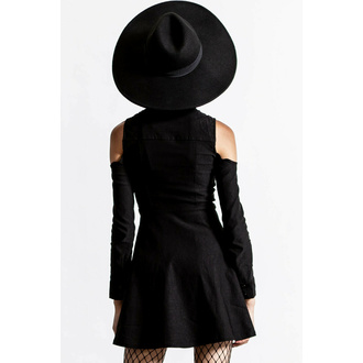 Ženska majica z dolgimi rokavi KILLSTAR - Play D Cad Turtleneck - Črna, KILLSTAR