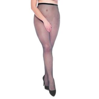 Hlačne nogavice PAMELA MANN - Fishnet Crotchless - Črna, PAMELA MANN