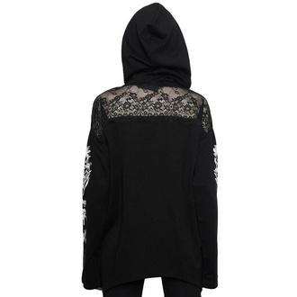 Ženska hoodie majica KILLSTAR - Poison Lace, KILLSTAR