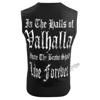 Moški Top VICTORY OR VALHALLA - THE ALMIGHTY TAUGHT ME TO FEAR NOTHING, VICTORY OR VALHALLA