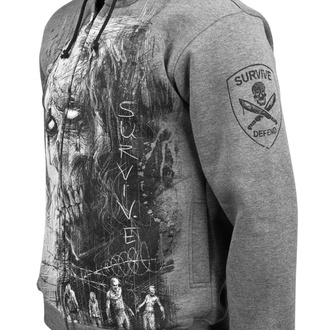 Moška jopa s kapuco - Zombie Defand Surive - ALISTAR - BSZP-2439