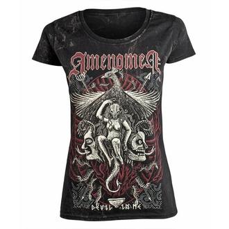 Ženska majica AMENOMEN - DEVIL IN ME, AMENOMEN