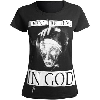 Ženska hardcore majica - I DON'T BELIEVE IN GOD - AMENOMEN, AMENOMEN