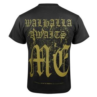 Moška majica VICTORY OR VALHALLA - CROW SKULL, VICTORY OR VALHALLA