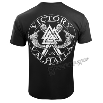 Moška Majica - VIKING SKULL - VICTORY OR VALHALLA, VICTORY OR VALHALLA