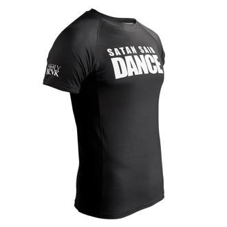 Moška majica (technical) HOLY BLVK - RASHGUARD SATAN SAID DANCE, HOLY BLVK