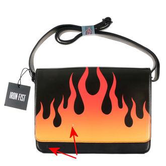 ročna torba IRON FIST - Fire Sign - Črno - ZAŠČITA, IRON FIST