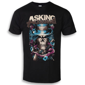 Moška metal majica Asking Alexandria - Hat Skull - ROCK OFF, ROCK OFF, Asking Alexandria