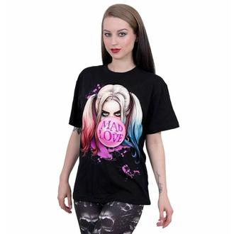 Unisex majica SPIRAL - Harley Quinn - MAD LOVE - Črna, SPIRAL