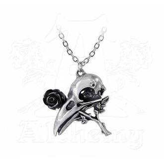 Ogrlica z Obeskom ALCHEMY GOTHIC - Quietus Rose, ALCHEMY GOTHIC