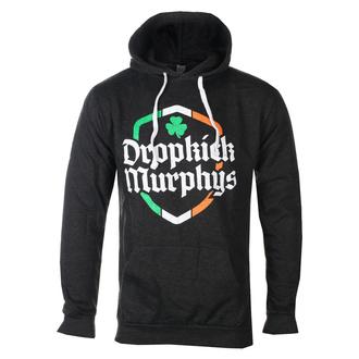 Moški hoodie Dropkick Murphys - Ire Shield - Black Heather - KINGS ROAD, KINGS ROAD, Dropkick Murphys