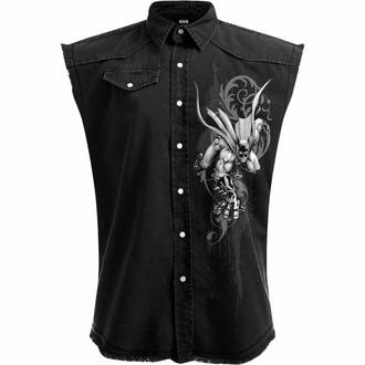Moška srajca brez rokavov (telovnik) SPIRAL - Batman - GOTHIC - Črna, SPIRAL, Batman