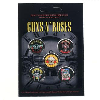 Značke Guns N' Roses - Bullet Logo - RAZAMATAZ, RAZAMATAZ, Guns N' Roses