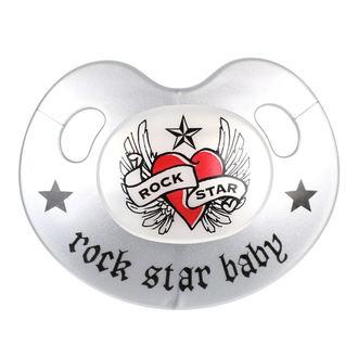 Pacifier ROCK STAR BABY - Heart & Wings, ROCK STAR BABY