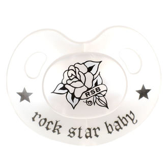 Pacifier ROCK STAR BABY - Rose, ROCK STAR BABY