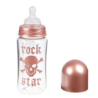 Otroška steklenička ROCK STAR BABY - ROSE PIRAT 300ml, ROCK STAR BABY