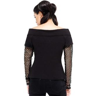 Ženska majica z dolgimi rokavi KILLSTAR - Rebelle Fishnet, KILLSTAR