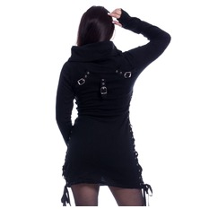 Ženski pulover Poizen Industries - REECE TOP LADIES BLACK, POIZEN INDUSTRIES