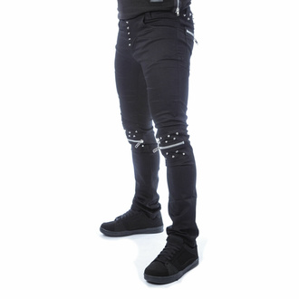 Moške hlače VIXXSIN - REHAN - ČRNA, VIXXSIN