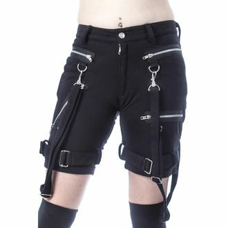 Ženske kratke hlače (športne) CHEMICAL BLACK - RENITA - ČRNA - POI1042