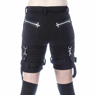 Ženske kratke hlače (športne) CHEMICAL BLACK - RENITA - ČRNA, CHEMICAL BLACK