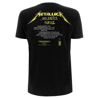 majica kovinski moški Metallica - And Justice For All Tracks -, NNM, Metallica