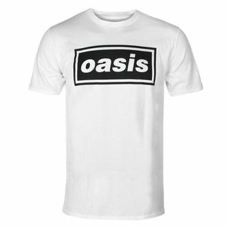 Moška majica Oasis - Logo Decca - Bela, NNM, Oasis