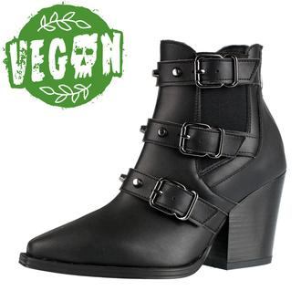 Ženski škornji ALTERCORE - Amasha - Vegan Black, ALTERCORE