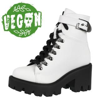 Ženski čevlji ALTERCORE - Enid - Vegan Bela, ALTERCORE