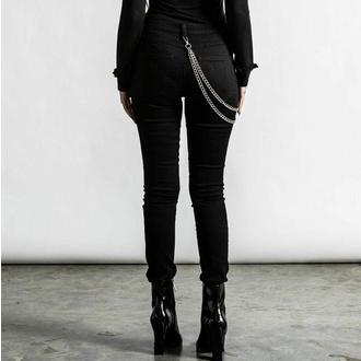 Ženske hlače KILLSTAR - R.I.P.. Slash - Črna, KILLSTAR