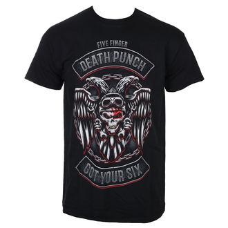 Moška majica Five Finger Death Punch - Biker Badge - Črna - ROCK OFF, ROCK OFF, Five Finger Death Punch