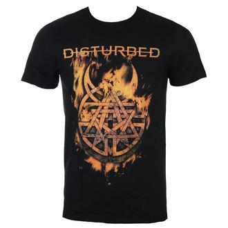 Moška metal majica Disturbed - Burning Belief - ROCK OFF, ROCK OFF, Disturbed