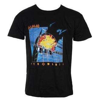 Moška metal majica Def Leppard - Pyromania - ROCK OFF, ROCK OFF, Def Leppard