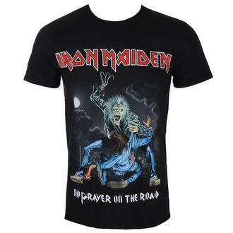 Moška majica Iron Maiden - No Prayer On The Road - Črna - ROCK OFF, ROCK OFF, Iron Maiden