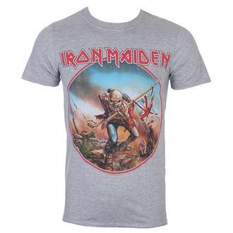 Moška majica Iron Maiden - Trooper - Siva - ROCK OFF, ROCK OFF, Iron Maiden