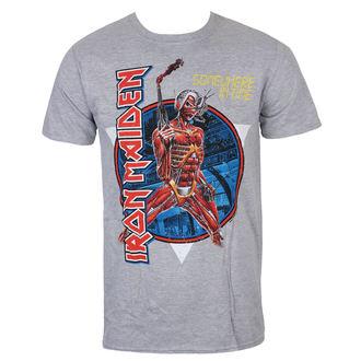 Moška majica Iron Maiden - Somewhere In Time - Siva - ROCK OFF, ROCK OFF, Iron Maiden