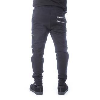 Moške hlače (športne) CHEMICAL BLACK - ROMEO - ČRNA, CHEMICAL BLACK