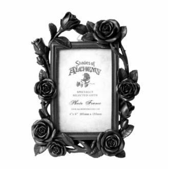 Dekoracija (foto okvir) ALCHEMY GOTHIC - Rose & Vine - Črna, ALCHEMY GOTHIC