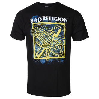 Moška majica Bad Religion - Against The Grain - Črna - KINGS ROAD, KINGS ROAD, Bad Religion
