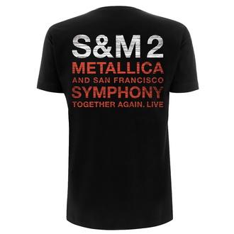 Moška majica Metallica - S&M2 Scratch Cello - Črna, NNM, Metallica