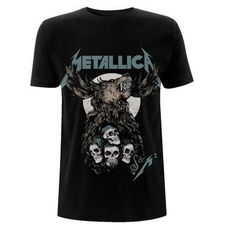 Moška majica Metallica - S&M2 Skulls - Črna, NNM, Metallica