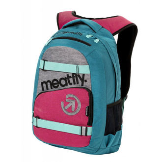 Nahrbtnik MEATFLY - EXILE 3 J - Ht.Turquoise / Ht.Rose, MEATFLY