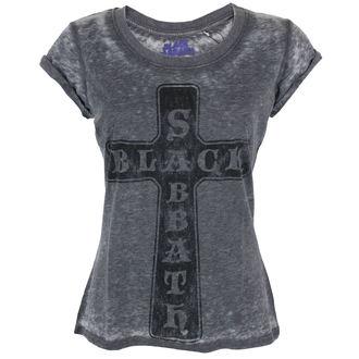 majica kovinski ženske Black Sabbath - Vintage Cross - ROCK OFF, ROCK OFF, Black Sabbath